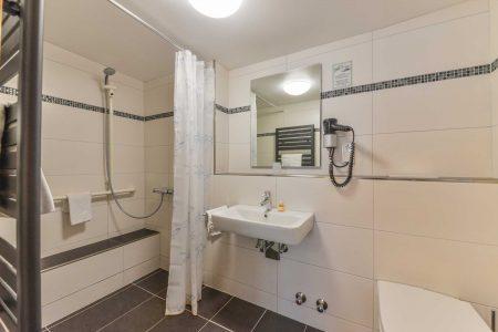Hotel Hessischer Hof Kirchhain - Bad Doppelzimmer