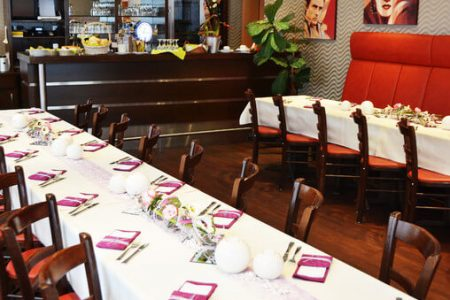 Hotel Restaurant Kirchhainer Hof Kirchhain Partyservice Tischdekoration